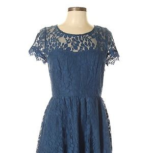 Lauren Conrad lace party dress from kohl's